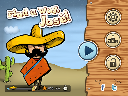 Find A Way Jose - iPhone iPad Gam