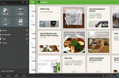 Evernote For Android Tablets Gets A Classy Redesign!