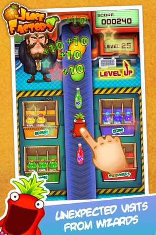Juice Factory iPhone Game Review