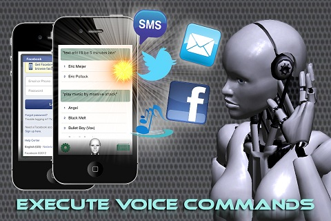 Voice Answer iPhone Animated Assistant 2