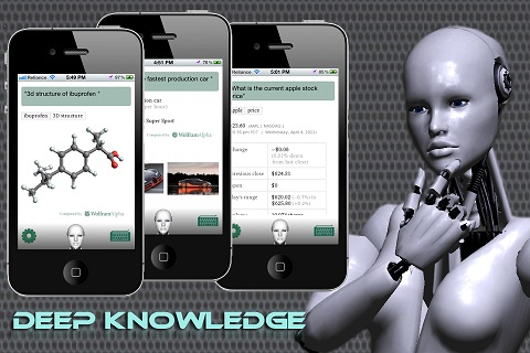 Voice Answer iPhone Animated Knowledge