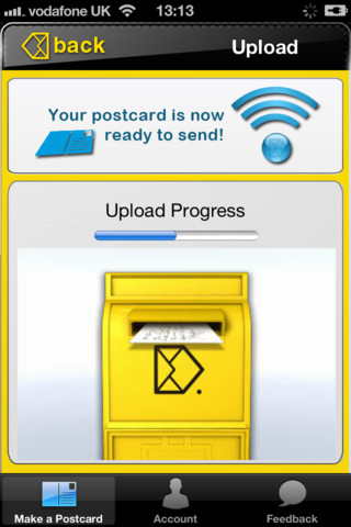 Postcard Maker iPhone App