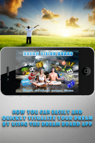 Dream Vision Board iPhone Android App 1