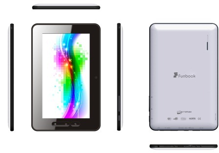 Micromax Funbook Affordable Android ICS Tablet