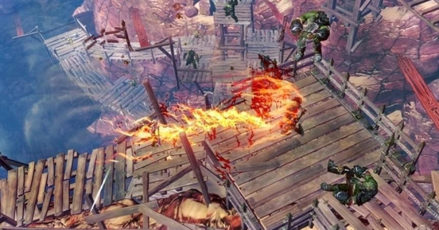 Sacred 3: Improved RPG Gameplay & Hack-and-Slash Co-Op!