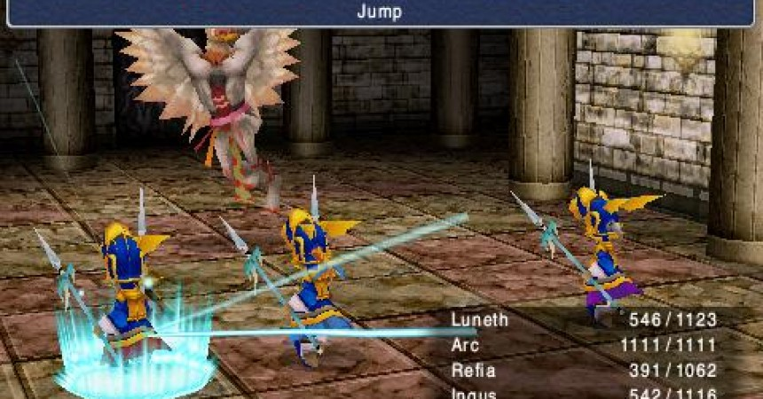 Final Fantasy 3 Hitting to PSP This Tuesday