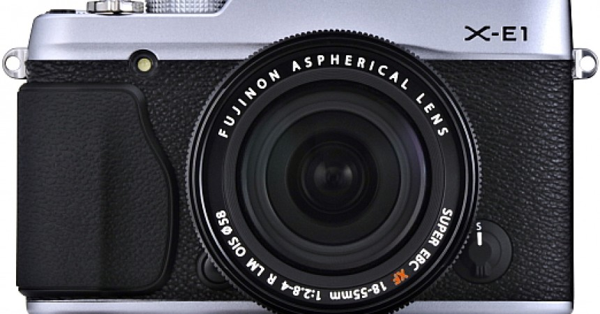 Fujifilm X-E1 mirrorless ILCy now Available at Rs. 70,000