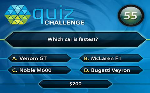 Quiz Challenge iPhone App 2