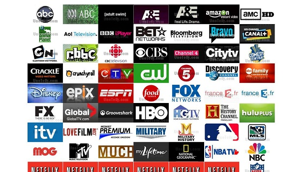 Channels Available on Unotelly