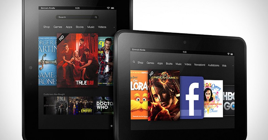 Amazon Announced Two New Kindle Fire HD tablets & a New e-Reader