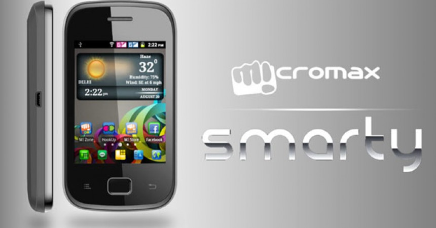 Micromax A25 Dual SIM Android Phone at  Rs. 3,999