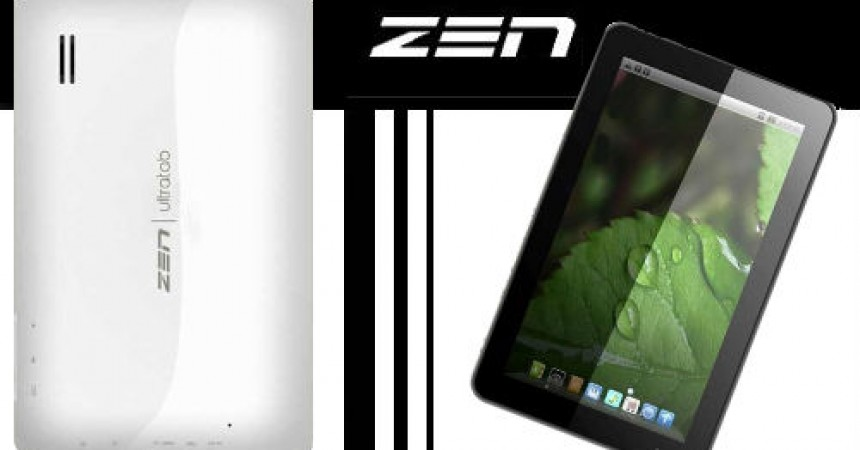"""Zen UltraTab A900 – An 9"""" Budget ICS Tablet For Just Rs.7999"""