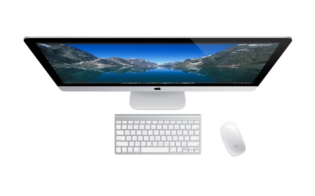 Redesigned Apple iMacs