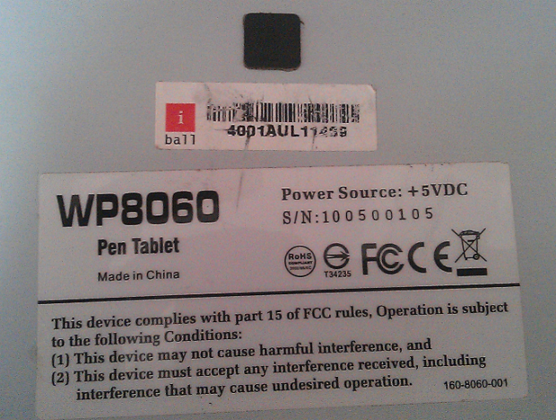 iBall Pen Tablet 8060TU