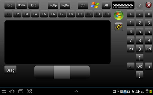 pc keyboard and mouse android app