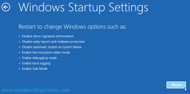 How to Start Microsoft Windows 8 in Safe Mode [Step by Step Tutorial] 5
