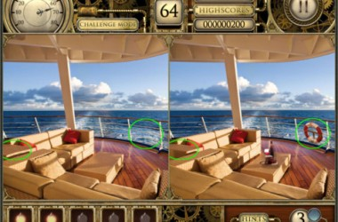 Spot The Difference HD iPad Game Review: Great Time Killer!