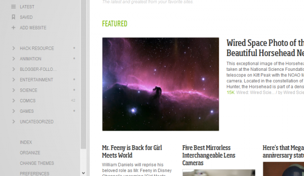Google Reader Tags to Feedly