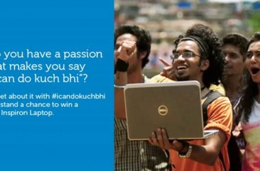 The #icandokuchbhi Twitter Contest: Your Chance To Win Dell Inspiron Laptop!