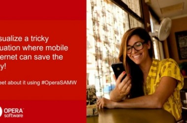 Exclusive #OPERASAMW Twitter Contest To Reveal Mobile Browsing Behaviour!