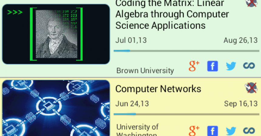 Coursera On The Go Android App Review – Education On The Go!