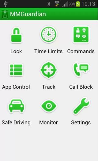 MMG Parental Control App -2