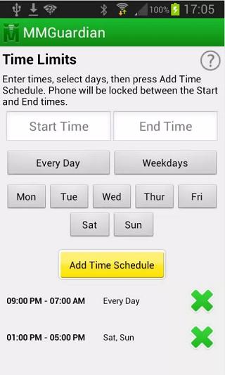 MMG Parental Control App -3