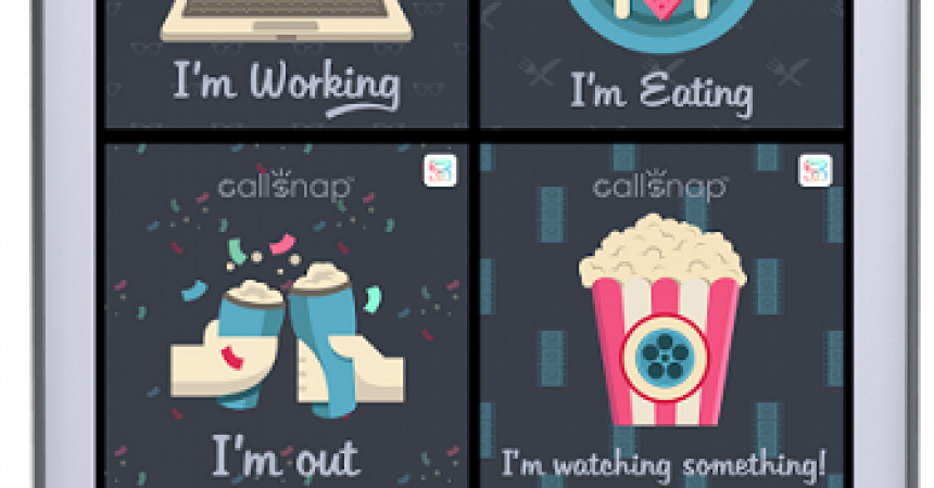 CallSnap 2.0 Android App Review : Reject Calls in Style!