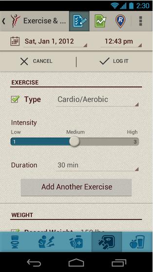 Gi BodyGuard Android App -6