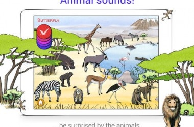 Wobb! Africa iPad Game Review: A Cool Animal Finding Game!