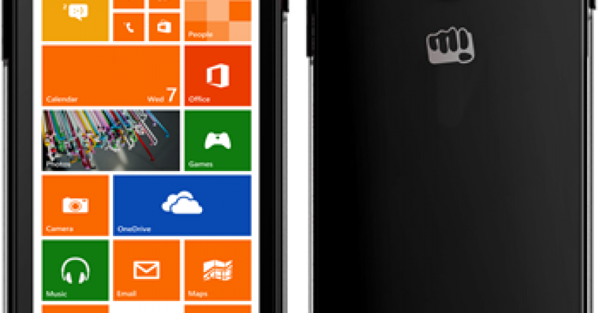 Micromax Windows Phones Launched With Promising Specs! – Canvas Win W 121 & Canvas Win 092!