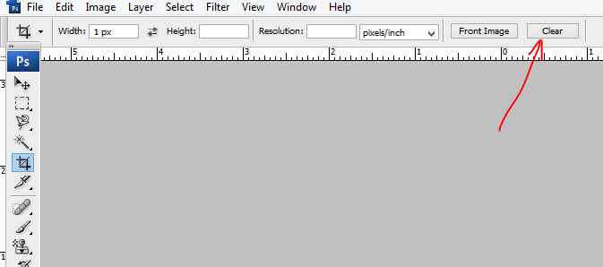 Fix Photoshop Crop Tool Not Working Problem