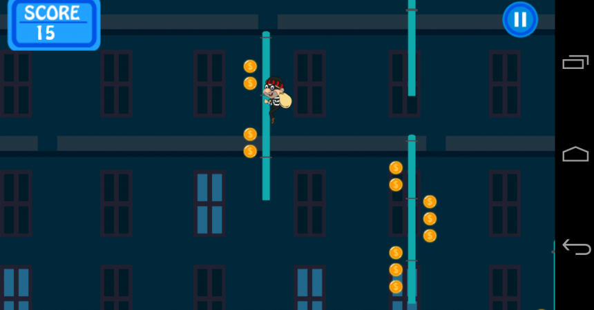 """Zabuza Labs Launches """"Thief Getaway"""": A Casual Android Game (Free)"""