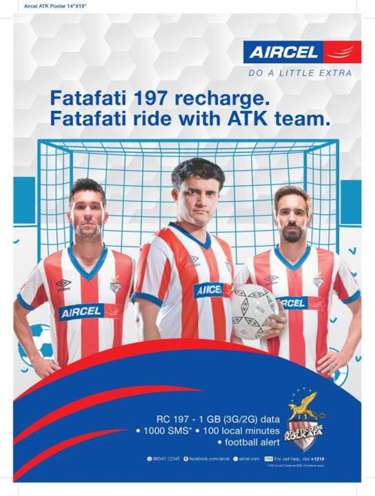 Aircel-ATK poster