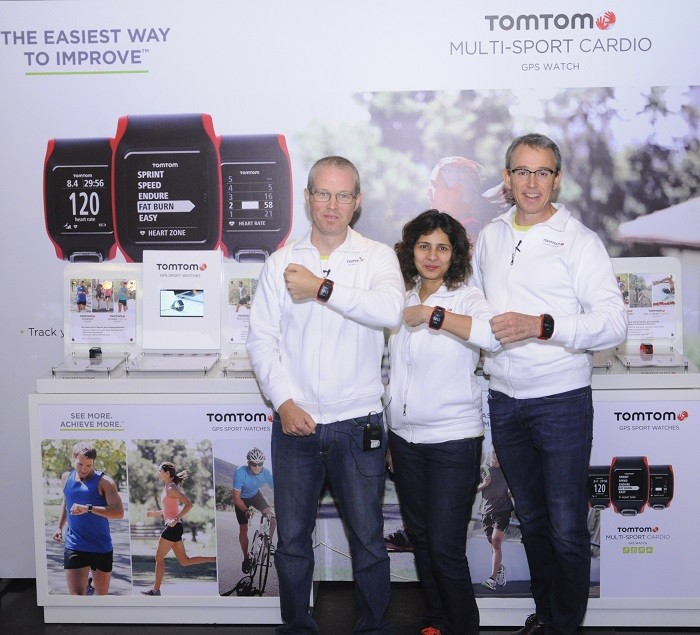 TomTom GPS Sports Watch Launched in India