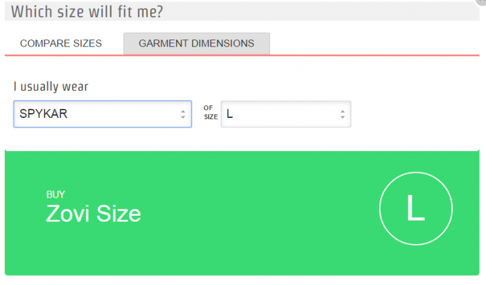 Zovi.com Size Guide 1