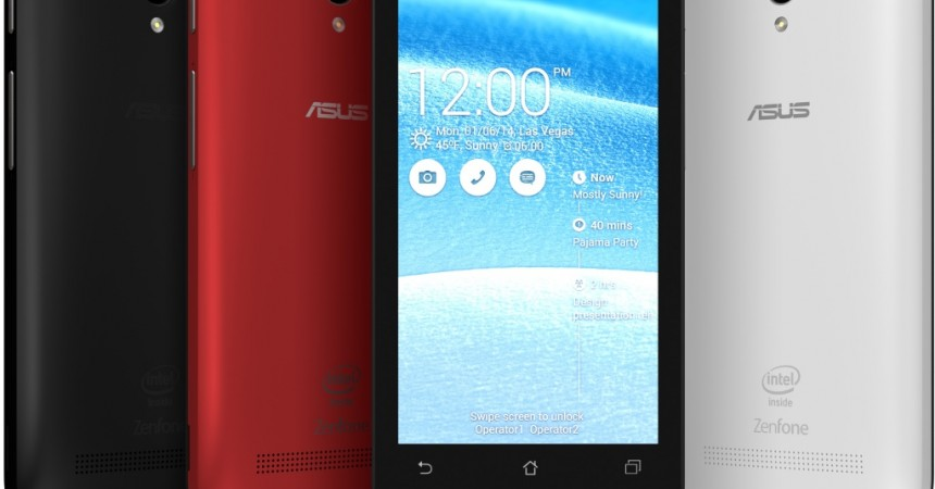 ASUS Zenfone C – ZC451CG Launched In India At Rs. 5999