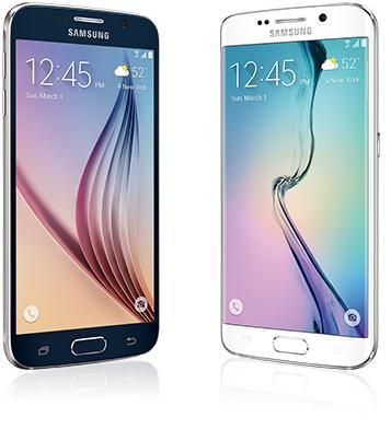 Samsung Galaxy S6 and S6 Edge Display