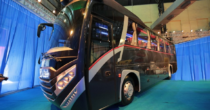 MG Group And MAN Trucks India Unveil The Luxury Coach 'MAMMOTH'