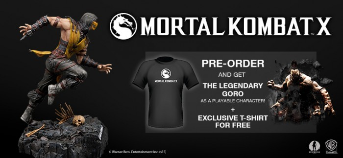 Mortal Kombat X Now Available for Pre-Order