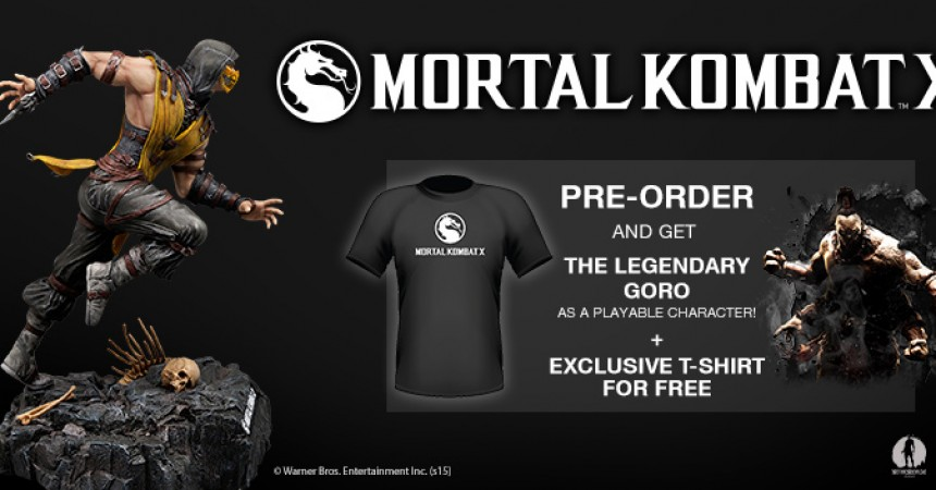 Pre-Order Mortal Kombat X In India From 'Games The Shop' With Exclusive Bonus