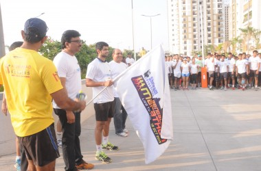 Hyderabad 10K Run At Rainbow Vistas @ Rock Garden A Grand Success
