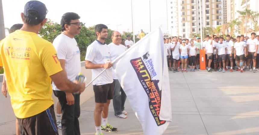 Hyderabad 10K Run At Rainbow Vistas @ Rock Garden A Grand Success