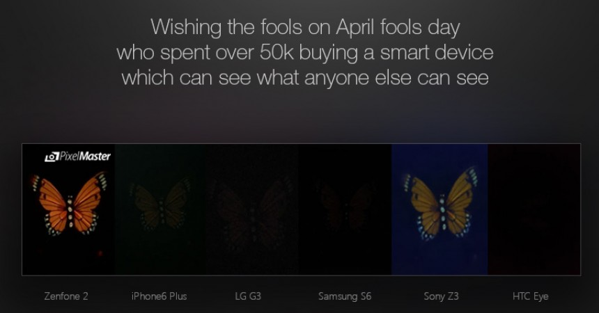Asus Teases Competitors With Its Zenfone 2 Launch on April's Fool Day!