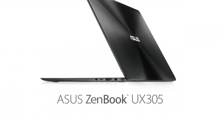 ASUS Launches 'ZenBook UX305 Ultra-Portable Laptop': The Slim, Featherweight Powerhouse!