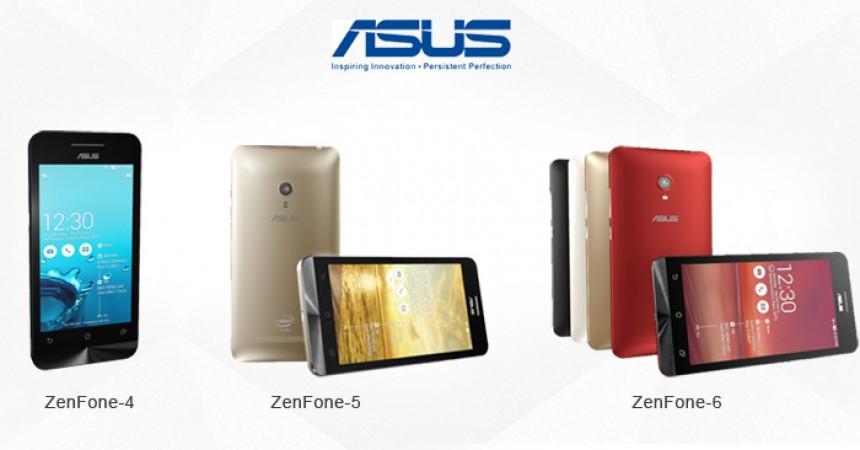 ASUS Lollipop Update For Zenfone 4, 5 & 6 Series Is Just Around The Corner