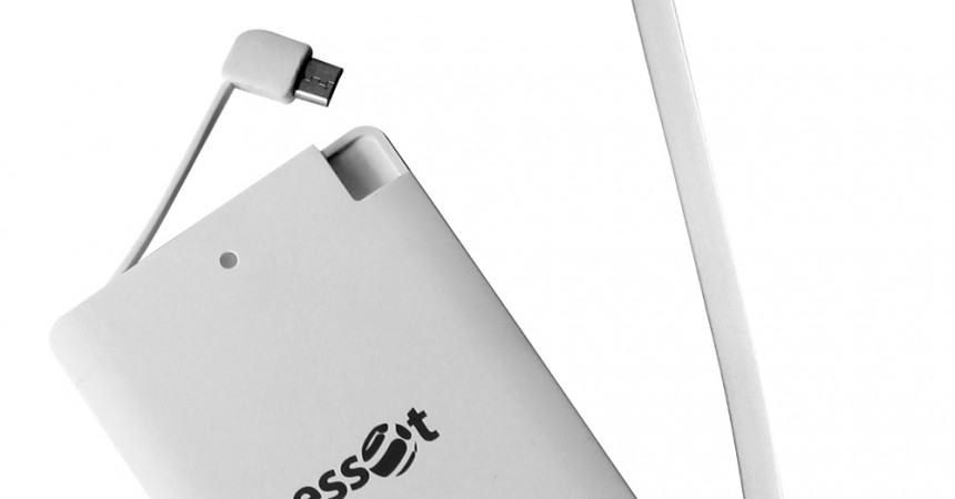 Essot Promotes Its Credit Card Shape Power Bank PwerHorsez2600C