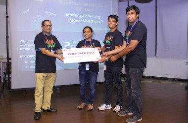 Texas Instruments India Celebrates 'DIY Day'; Participants Vie For The 'Chief Geek India' Title