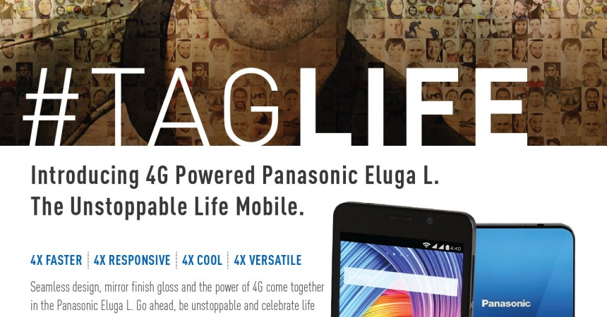 Panasonic Launches Eluga L 4G In India: Goes Fast Lane With The Launch of 4G Device!