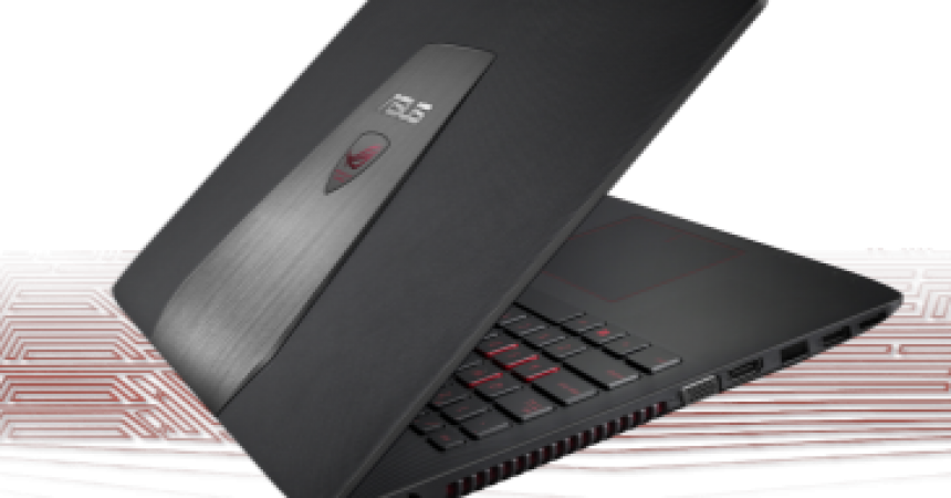 ASUS ROG GL552 Gaming Notebook Launched At Rs.70,999 In India